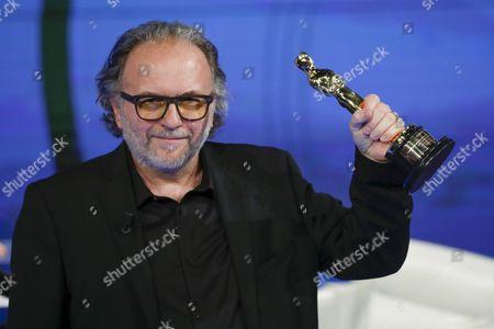 Stock Photo of Alessandro Bertolazzi, winner Academy Award 2017 make up film Suicide squad