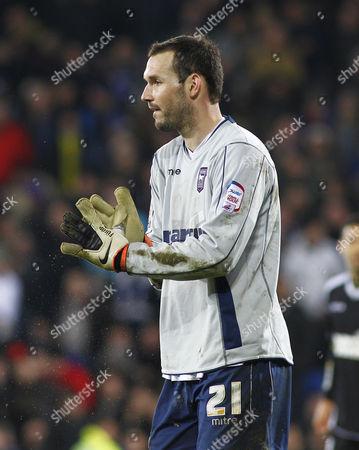 Ipswich Town Goalkeeper Marton Fulop United Kingdom Cardiff