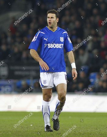 Cardiff Defender Dekel Keinan United Kingdom Cardiff