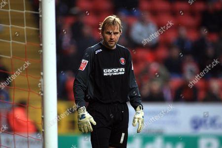 Nicky Weaver of Charlton Athletic United Kingdom London