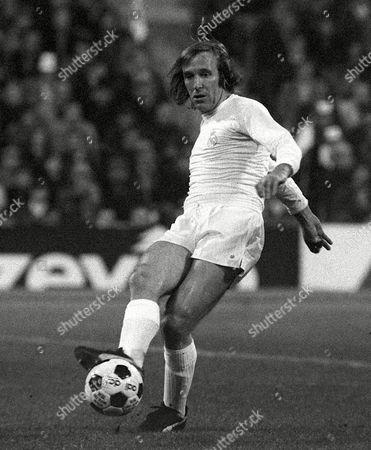 Gunter Netzer Real Madrid File Photo Dated 14/4/1976