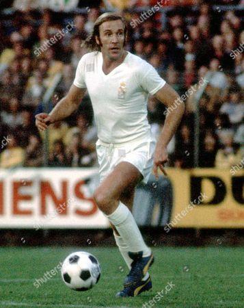 Gunter Netzer Real Madrid File Photo Dated 7/8/1973