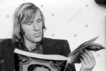 Real Madrid's Gunter Netzer Relaxes with A Book File Photo Dated 29/5/1974
