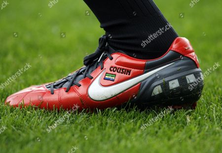 The Personalised Nike Boot of Daniel Cousin of Hull City United Kingdom Hull