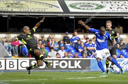 Editorial photo of Ipswich Town V Leeds United - 27 Aug 2011