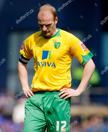 A Dejected Gary Doherty of Norwich City United Kingdom Ipswich