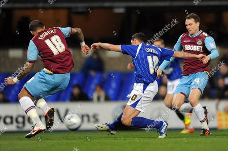 Michael Chopra of Ipswich Town Scores 1-0 United Kingdom Ipswich