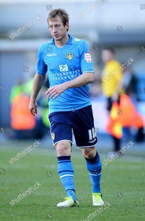 Luciano Becchio of Leeds United United Kingdom London