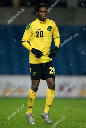 Jason Morrison of Jamaica United Kingdom London