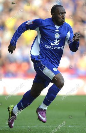 Darius Vassell of Leicester City United Kingdom Nottingham