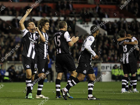 Editorial image of Nottingham Forest V Newcastle United - 20 Sep 2011