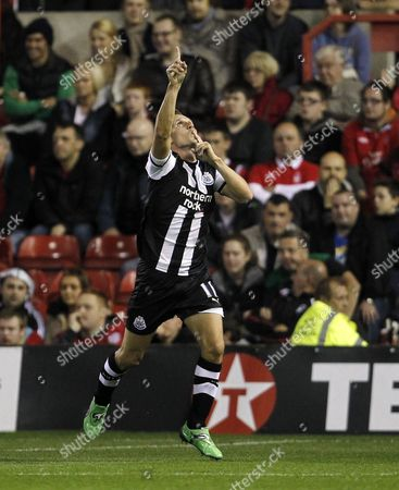 Editorial photo of Nottingham Forest V Newcastle United - 20 Sep 2011