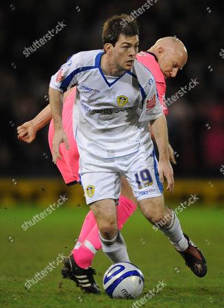 Ben Parker of Leeds United United Kingdom Oldham