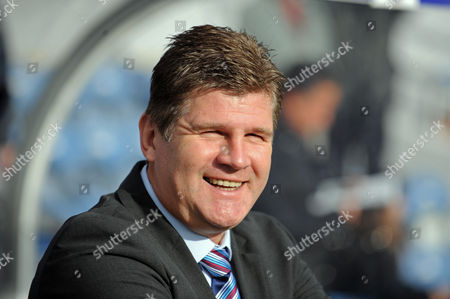 Stock Image of The Burnley Manager Brian Laws United Kingdom London