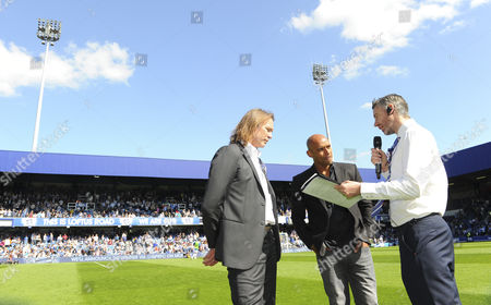 Qpr Commercial & Marketing - Former Players Darren Peacock and Trevor Sinclair Are Interviewed On the Pitch at Half Time United Kingdom S Africa Rd, London