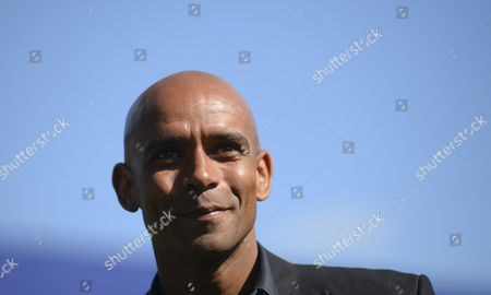Qpr Commercial & Marketing - Former Player Trevor Sinclair is Interviewed On the Pitch at Half Time United Kingdom S Africa Rd, London