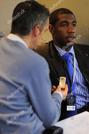 Cricketer Alex Tudor is Interviewed at Loftus Road Home of Qpr United Kingdom London