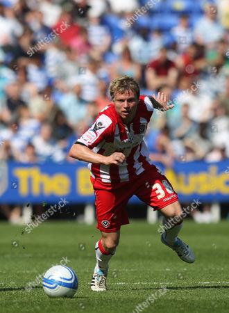 Bjorn Helge Riise of Sheffield United United Kingdom Reading