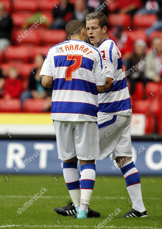 Adel Taarabt of Queens Park Rangers Requests the Matchball From Heider Helguson Before Scoring His Penalty Kick United Kingdom Sheffield