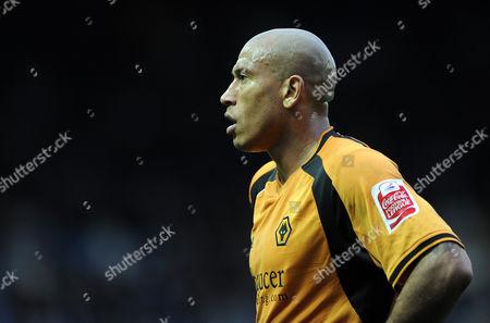 Chris Iwelumo of Wolverhampton Wanderers United Kingdom Sheffield