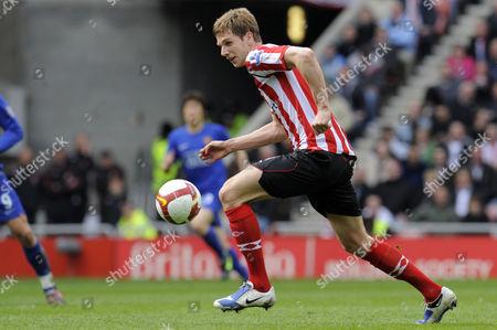 Calum Davenport of Sunderland On Debut United Kingdom Sunderland