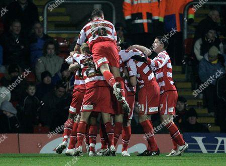 Editorial photo of Watford V Doncaster Rovers - 29 Nov 2008