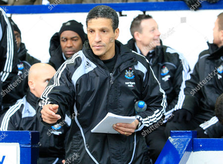 Newcastle United Coach Chris Hughton Takes Over For an Ill Joe Kinnear United Kingdom Birmingham