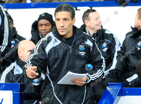 Newcastle Coach Chris Hughton Takes Over For an Ill Joe Kinnear United Kingdom Birmingham