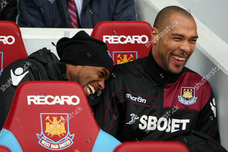 Happy Days at West Ham United For Frederic Piquionne and John Carew United Kingdom London