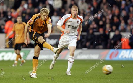 Editorial photo of Wolverhampton Wanderers V Blackpool - 25 Apr 2013