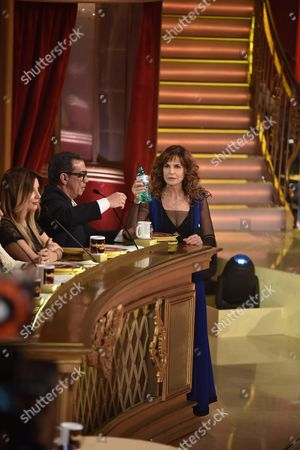 Giuliana De Sio with the jury