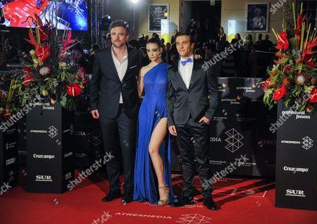 Esteban Crespo, Maria Pedraza and Pol Monen