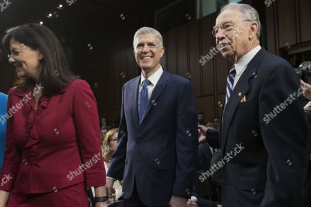 Chuck Grassley, Neil Gorsuch and Kelly Ayotte
