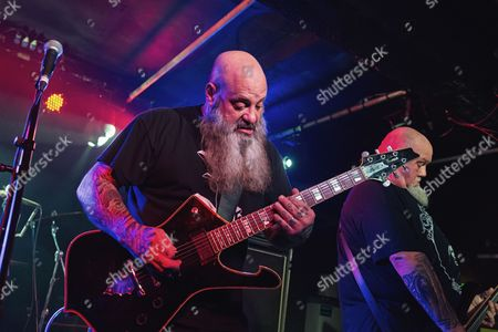 Editorial image of Crowbar in concert at Academy 3, Manchester, UK - 19 Mar 2017