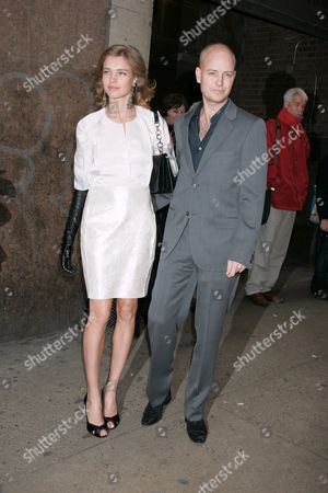 Natalia Vodianova and husband Justin Portman