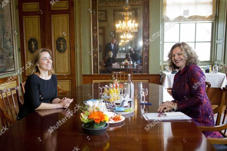 Marianne Thieme and Edith Schippers