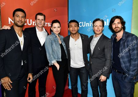 J.R. Lemon, Brendan Fehr, Jill Flint, Robert Bailey, Jr., Scott Wolf and Eoin Macken