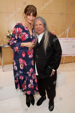 Helena Christensen and John Rocha
