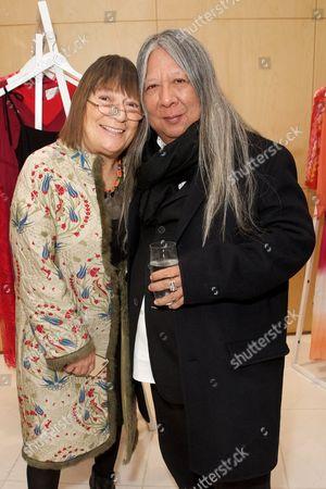 Stock Photo of Hilary Alexander and John Rocha