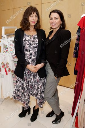 Stock Image of Jemima French and Sadie Frost