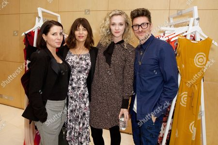 Jemima French, Sadie Frost, Portia Freeman and Henry Holland