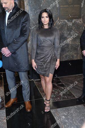 Joe Manganiello and Demi Lovato