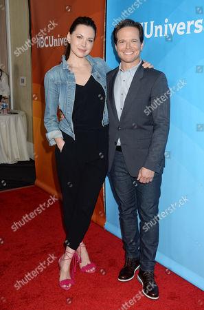 Jill Flint and Scott Wolf