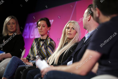 Editorial photo of Millennials: Meet Your Future Boss seminar, Advertising Week Europe 2017, Fast Company Stage, Picturehouse Central, London, UK - 22 Mar 2017