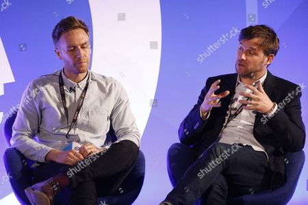 Chris Cardew (Head of Strategy, Mindshare) and James Hunt (VP, Create, CNN International Commercial)