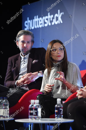 Oliver Lewis (Director of Digital Strategy, News UK) and Tia Castagno (Global Head of Innovation and Content, Vizeum)