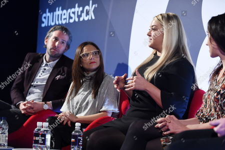 Oliver Lewis (Director of Digital Strategy, News UK), Tia Castagno (Global Head of Innovation and Content, Vizeum) and Lauren Dick (Head of Emerging Platforms, Mail Online)