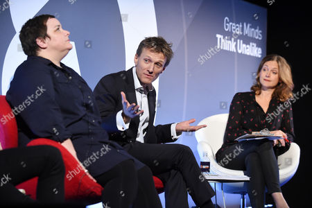 Vicki Maguire (ECD, Grey London), Rob Weston (Director, Brand and Marketing, Marks and Spencer) and Katie Derham (Broadcaster)