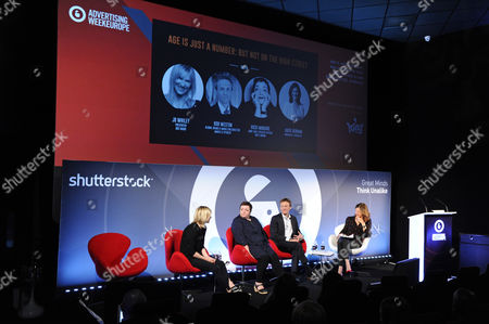 Jo Whiley (Broadcaster), Vicki Maguire (ECD, Grey London), Rob Weston (Director, Brand and Marketing, Marks and Spencer) and Katie Derham (Broadcaster)