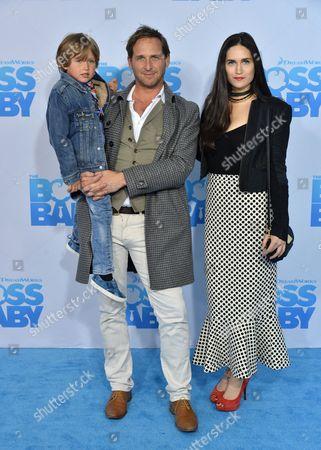 Josh Lucas son Noah Rev Maurer and Jessica Ciencin Henriquez